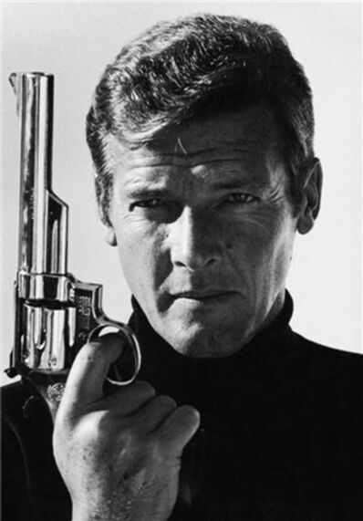 Terry O'Neill, 'Roger Moore 1973 (Hand Cosigned by Roger Moore / O'Neill) '