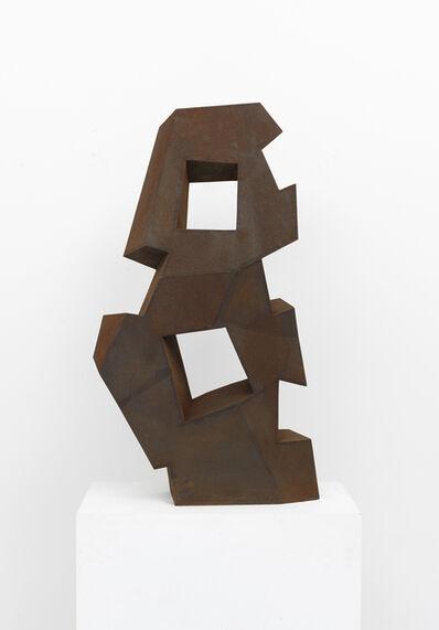 David Nash, 'Five Bites and Two Squares', 2019