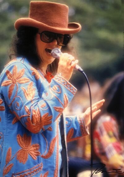 Roberto Rabanne, 'Grace Slick', 1972 Golden Gate Park-San Francisco