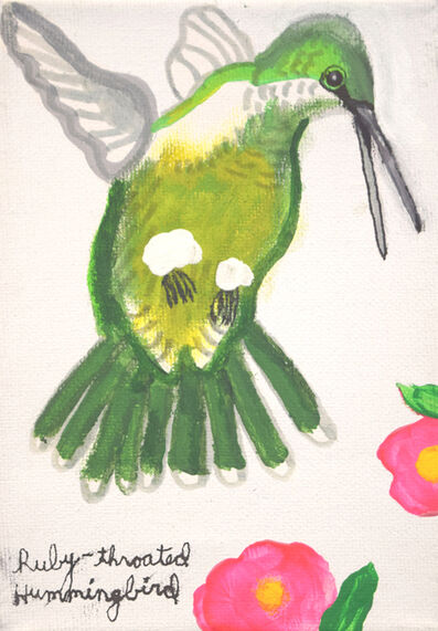 Mercedes Kelly, 'Ruby-Throated Hummingbird', 2016