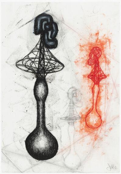 John Newman (b.1952), 'Drawing for a sculpture', 2012