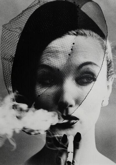 William Klein, 'Smoke + Veil, Paris', 1958