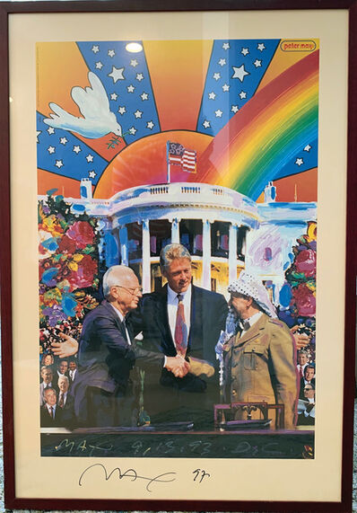 Peter Max, 'Peace Accord,, 1993', 1993