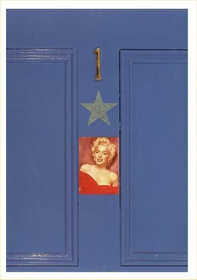 Peter Blake, 'MARILYN'S DOOR', ca. 1990