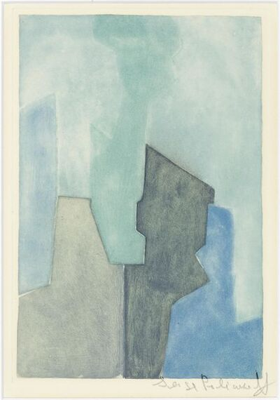Serge Poliakoff, 'Composition in bleue', 1964