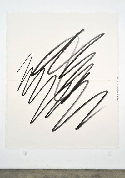 Karl Haendel, 'Big Scribble #6 (squat)'