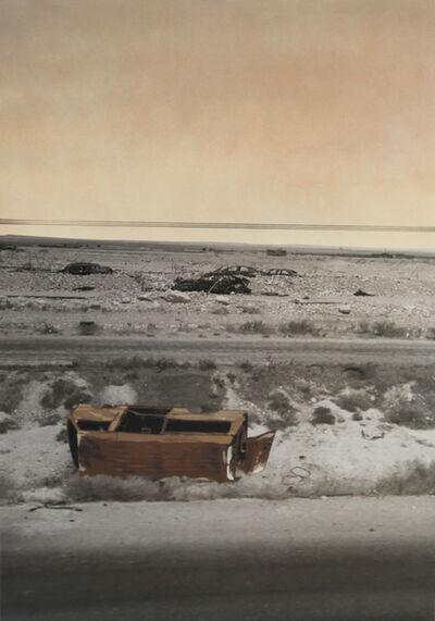 Luke Cornish (ELK), 'Desert graveyard', 2017