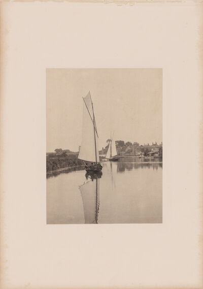 Peter Henry Emerson, 'The village of Horning', 1886