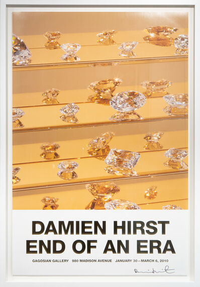 Damien Hirst, 'End Of An Era Signed Poster', 2010