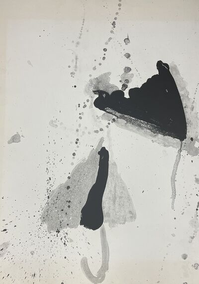 """Walasse Ting, 'Unsigned states for the lithographs """"Star Umbrella"""" (Black #12)', 1967"""
