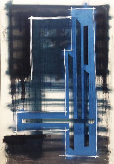 Marcello Pozzi, 'OVERLINES 1 | LA Acrylic Painting  ', 2010
