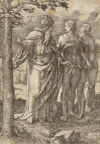 Lucas van Leyden, 'The First Prohibition, from The Story of Adam and Eve'