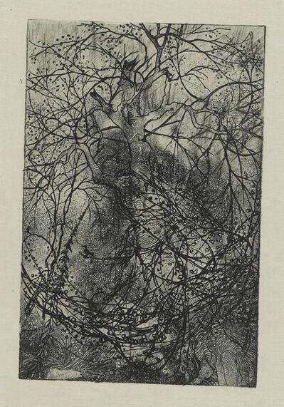 Rudolphe Bresdin, 'Branchages', circa 1880