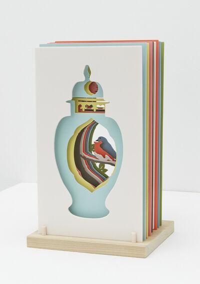 Janice Jakielski, 'Sliced Meissen Vase with Bird', 2019