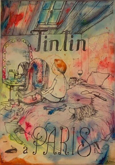dran, 'Tintin a Paris ', 2018