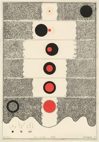 Warja Lavater, 'Pictogram 7', 1976