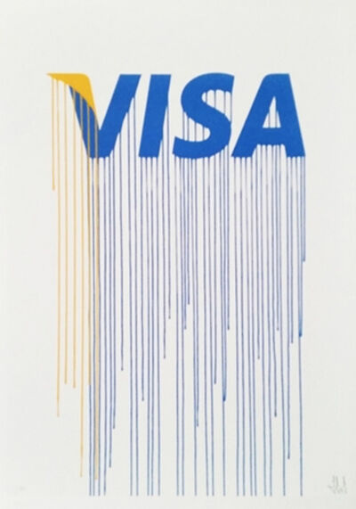 Zevs, 'Liquidated Visa (from Liquidated London set)', 2012