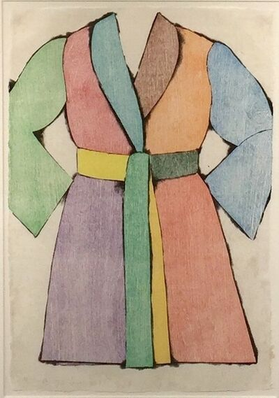 Jim Dine, 'The Woodcut Bathrobe', 1975