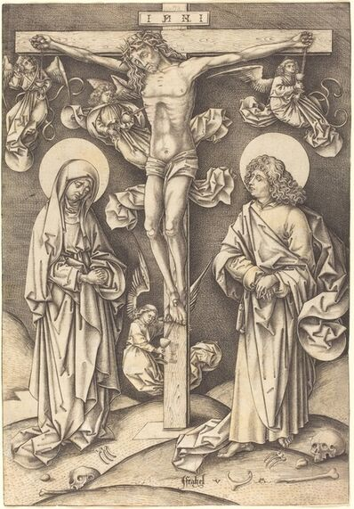 Israhel van Meckenem, 'The Crucifixion', ca. 1490/1500