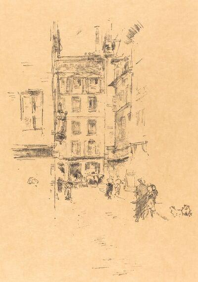 James Abbott McNeill Whistler, 'Rue Furstenberg', 1894