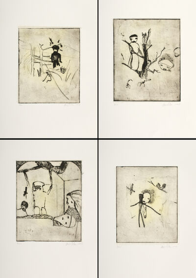 Martin Mull, 'Untitled Etching / Suite of 4', 1997