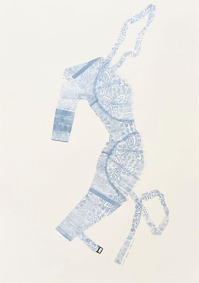 June Ho, 'Sewing Pattern 1, Feminine', 2021
