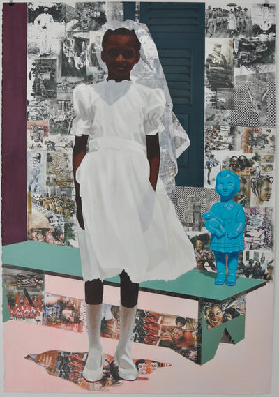 Njideka Akunyili Crosby, 'The Beautiful Ones', 2015