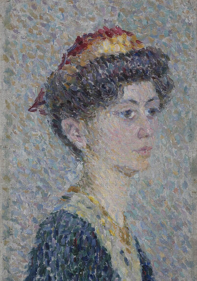 Alexander Bogomazov, 'Portrait of a Girl', 1908