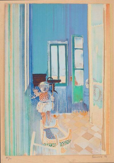 Leonardo Cremonini, 'Hide and seek', 1972