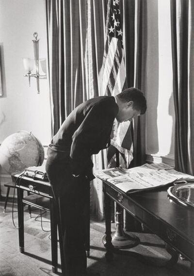 Alfred Eisenstaedt, 'President Kennedy in Oval Office', 1961