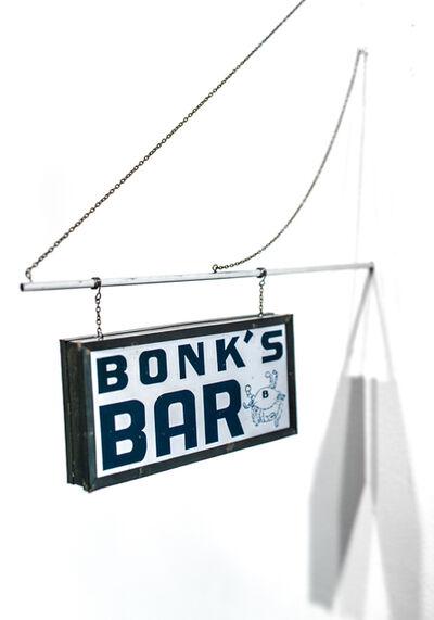 Drew Leshko, 'Bonk's Bar', 2019