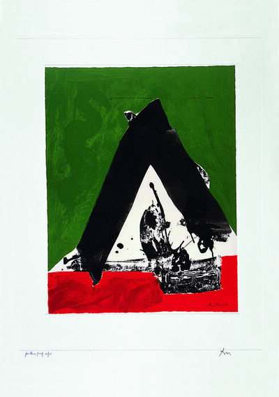 Robert Motherwell, 'The Basque Suite: Untitled (ref. 84)', 1971