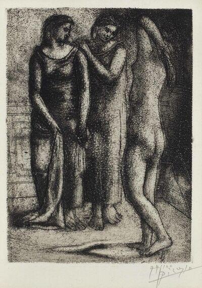 Pablo Picasso, 'Deux Femmes Regardant un Modèle Nu', 1922-23