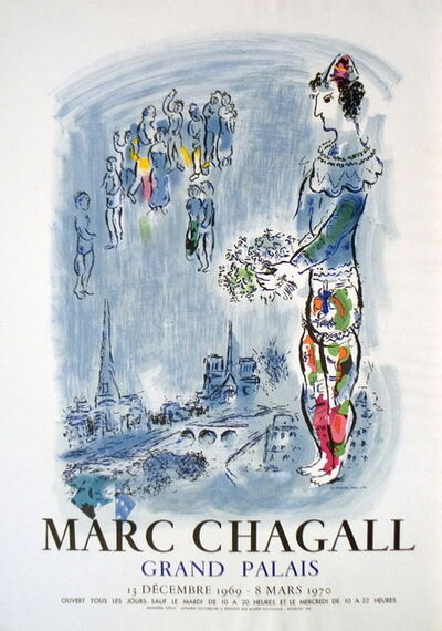 Marc Chagall, 'The Magician Of Paris', 1970