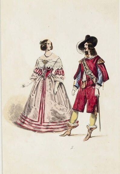 Unknown, 'The Lady and the Musketeer', End of 19th Century