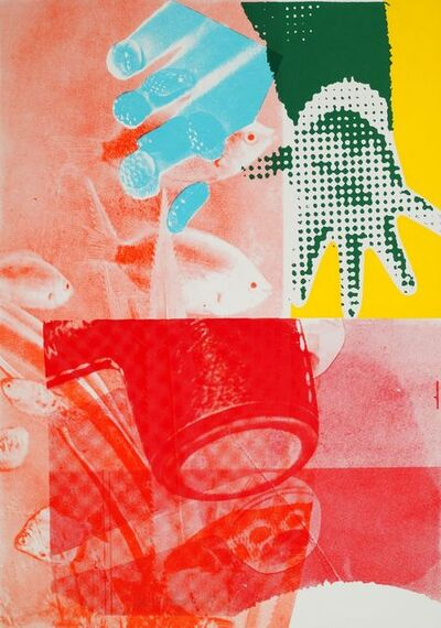 James Rosenquist, 'For Love [Glenn 13] from 11 Pop Artists, Volume III', 1965
