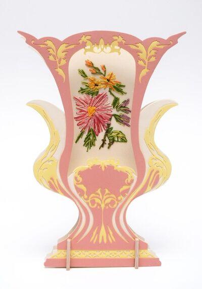Janice Jakielski, 'Embroidered Sèvres Vase', 2018
