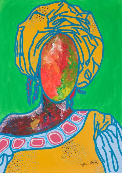 Ajarb Bernard Ategwa, 'My foulani friend', 2020