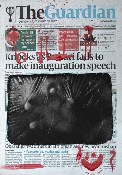 Ken Nwadiogbu, 'Headline Series (no. 5)', 2019