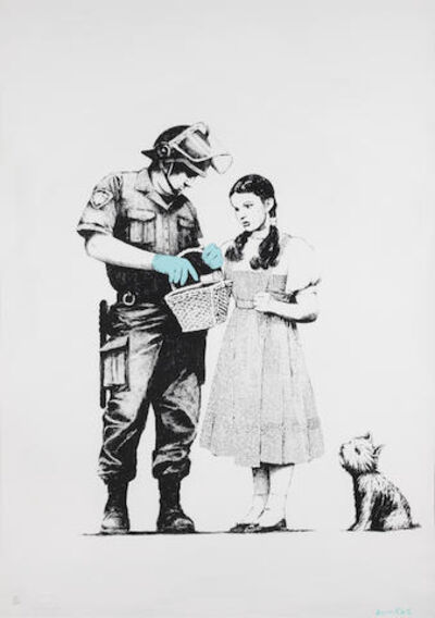 Banksy, 'Stop And Search ', 2007