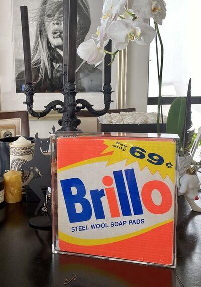 Andy Warhol, 'Original Andy Warhol Brillo Box', 1988