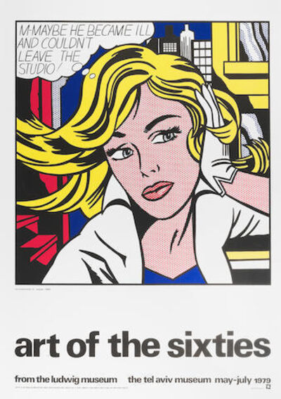 Roy Lichtenstein, 'Poster of Ludwig Museum 'Art of the Sixties'', 1979
