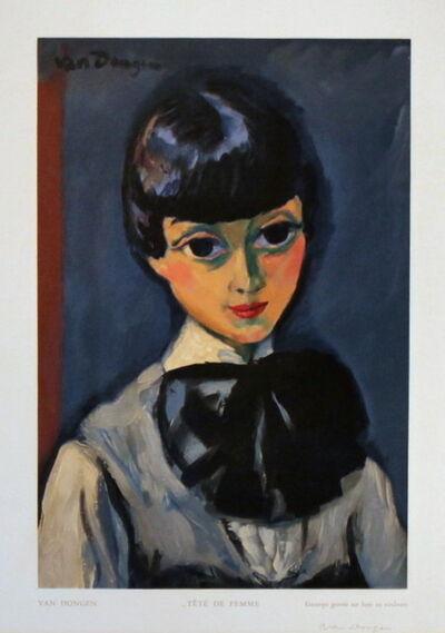Kees van Dongen, ''Tête de Femme' ', 1950