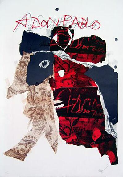 Antoni Clavé, 'A Don Pablo I', 1985