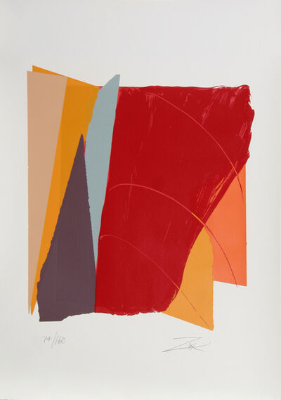 Larry Zox, 'Red Line I', 1979