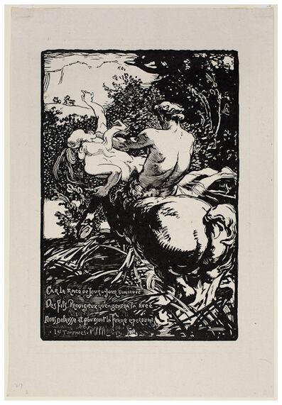 Auguste Lepère, 'Centaur'