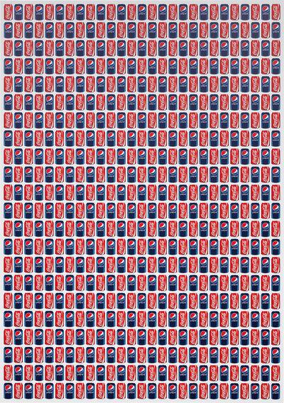 Jonathan Horowitz, 'Coke / Pepsi (594 CANS)', 2011