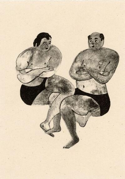 Sandra Wang and Crockett Bodelson SCUBA, 'Footsies', 2016