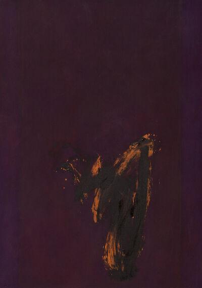 Cleve Gray, 'Meditation ', 1977