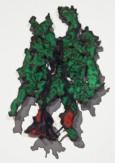 "Frans Krajcberg, 'S/ Titulo - ""sombra verde""', 2014"